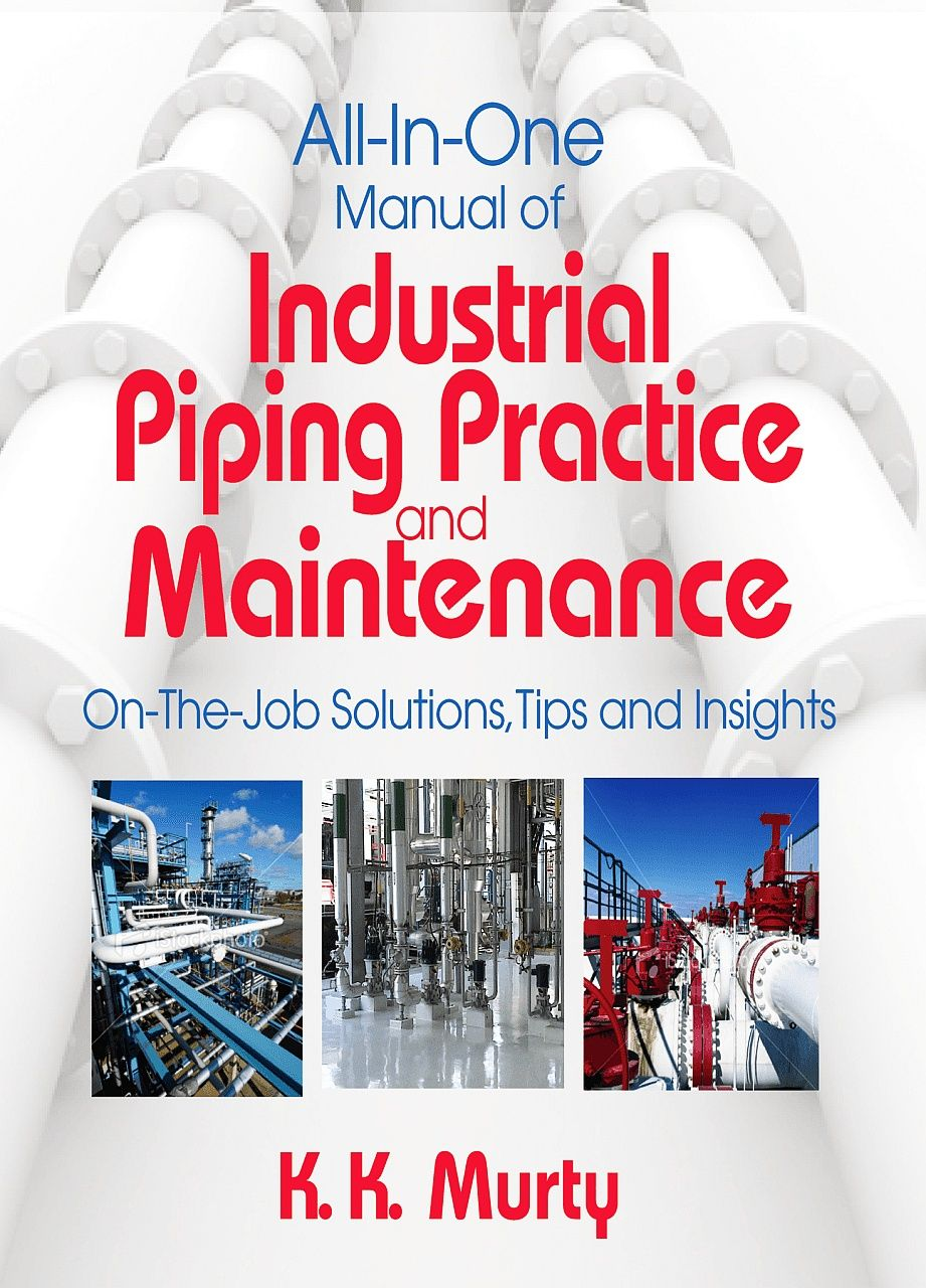 Cover All In One Manual Of Industrial Piping Practice And Layout Books