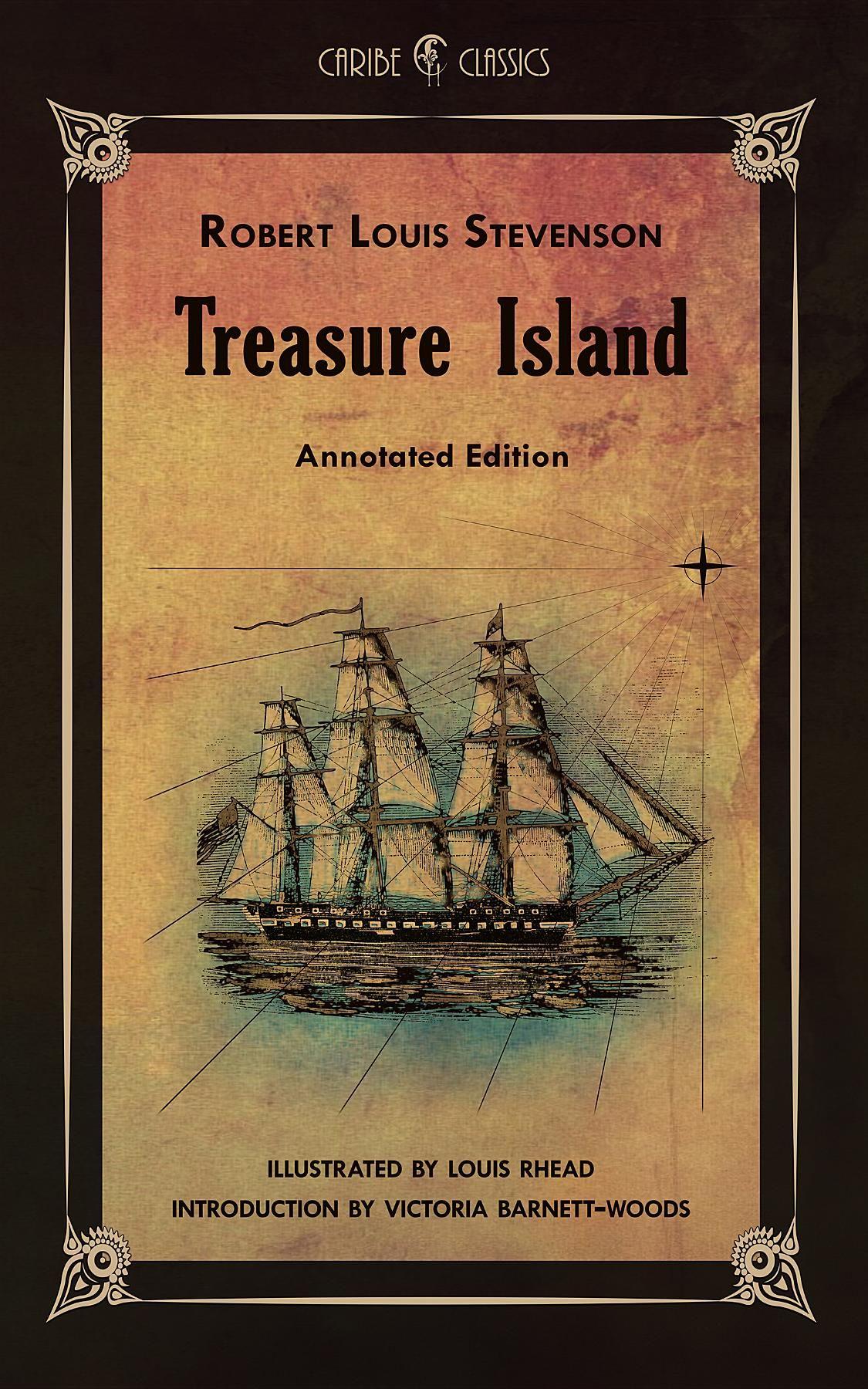 treasure island author analysis